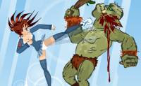 Schoolgirl Vs Orcs
